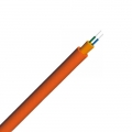 Duplex Multimode 50/125 OM2, LSZH, Single Jacket Round Indoor Tight-Buffered Interconnect Fiber Optical Cable