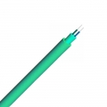 Duplex Multimode 50/125 OM3, Plenum, Single Jacket Round Indoor Tight-Buffered Interconnect Fibre Optical Cable