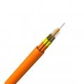 12 fibras multimodo 50/125 OM2, Riser, Cable GJPFJH para distribución interior con tubo apretado ajustada unificada