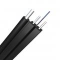 Câble Optique de Descente Autoporté (FTTH) LSZH, 2 Fibres Monomode 9/125 OS2, Élément de Force FRP, GJYXFCH