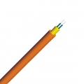 Duplex, Corning Fibre, LSZH Single Jacket Round Indoor Tight-Buffered Interconnect Fibre Optical Cable