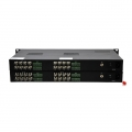 16 Channel Unidirectional HD-SDI over Optical Fibre Transmitter and Receiver Set