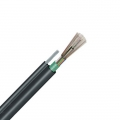 24 fibras multimodo 62.5/125 OM1, blindaje simple, tubo holgado, figura 8, cable aéreo autoportante impermeable para exteriores GYTC8S