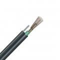 48 fibras monomodo 9/125 OS2, blindaje simple, tubo holgado, figura 8, cable aéreo autoportante impermeable para exteriores GYTC8S