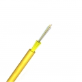Câble Optique à Structure Serrée pour Intérieur/Extérieur, 4 Fibres Monomode 9/125 OS2, LSZH, Non Armé, Élément de Force de Fils de Verre