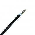 Câble de Ruban à Tube à Structure Libre pour Extérieur, Imperméable, Seule Armure, Seule Gaine 144 Fibres, GYDTA