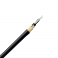 24 Fibers Singlemode 9/125 OS2, PE Jacket Span 50M, Stranded Loose Tube, ADSS Waterproof Outdoor Cable GYFTCY