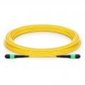 12 Fibres MTP to MTP Male LSZH OS2 Single Mode Elite Fibre Trunk Cable, Type A, 9m