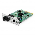 Centralized Managed 1x 10/100/1000Base-T RJ45 to 1x 1000Base-X SC/LC/FC/ST, Dual Fiber, 850nm 550m, Card Type Gigabit Ethernet Media Converter
