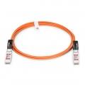 Cable óptico activo SFP+ 10G compatible con Brocade 10G-SFPP-AOC-3001 30m (98ft)