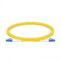 LC-LC UPC Simplex Single Mode Fibre Patch Lead 2.0mm PVC (OFNR) 2m