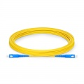 7m (23ft) SC UPC to SC UPC Simplex OS2 Single Mode PVC (OFNR) 2.0mm Fiber Optic Patch Cable