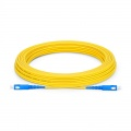 15m (49ft) SC UPC to SC UPC Simplex OS2 Single Mode PVC (OFNR) 2.0mm Fiber Optic Patch Cable