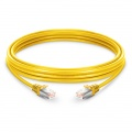 1.5m Cat6 Ethernet Patch Cable - Snagless, Shielded (SFTP) PVC, Yellow