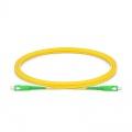 Cable/latiguillo/jumper de fibra óptica SC APC a SC APC 2m OS2 9/125 símplex monomodo PVC 2.0mm