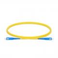 SC-SC UPC Simplex Single Mode Fibre Patch Lead 2.0mm LSZH 1m