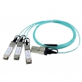 Customised 120G CXP to 3x40G QSFP+ Breakout Active Optical Cable