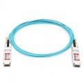 Cable Óptico Activo 100G QSFP28 a QSFP28 10m (33ft) - Compatible con HW QSFP-100G-AOC10M