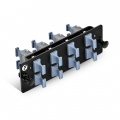 FHD LWL-Adapter-Panel, 8x MTP®, Key-Up auf Key-Up Adapter