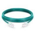Cable de red Ethernet LAN RJ45 UTP Cat6 50m 10/100/1000 Mbps hasta 10 Gbps PVC - verde