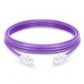 Cable de Red Ethernet LAN RJ45 UTP Cat6 1m 10/100/1000 Mbps hasta 10 Gbps PVC Púrpura