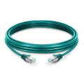 Cable de Red Ethernet LAN RJ45 S/FTP Cat6 5m 10/100/1000 Mbps hasta 10 Gbps PVC Verde