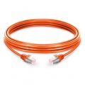 33ft (10m) Cat6 Snagless Shielded (SFTP) PVC Ethernet Network Patch Cable, Orange