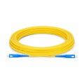 Biegeunempfindliches LWL-Patchkabel, 15m (49ft) SC UPC auf SC UPC Simplex Stecker, OS2 Singlemode LSZH 2,0mm