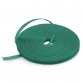 25m/Roll 1000in.L x 0.48in.W Back to Back Reusable Cable Ties-Green
