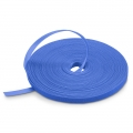 25m/Roll 1000in.L x 0.48in.W Back to Back Reusable  Cable Ties - Blue