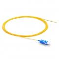 2M (7ft) SC/UPC Оптический Пигтейл SM 0.9мм, Simplex 9/125 OS2, Одномодовый - PVC