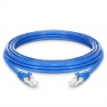 16ft (5m) Cat7 Snagless Shielded (SFTP) PVC CMX Ethernet Network Patch Cable, Blue