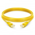 6.6ft (2m) Cat5e Snagless Unshielded (UTP) PVC Ethernet Network Patch Cable, Yellow