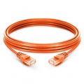 6.6ft (2m) Cat5e Snagless Unshielded (UTP) PVC Ethernet Network Patch Cable, Orange