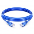 33ft (10m) Cat5e Snagless Unshielded (UTP) PVC Ethernet Network Patch Cable, Blue