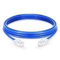 Cable de Red Ethernet LAN RJ45 UTP Cat 5e 1m 10/100/1000 Mbps PVC Azul