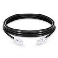 3m Cat5e Ethernet Patch Cable - Non-booted, Unshielded (UTP) PVC, Black