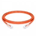 Customised Cat6 24AWG Orange Unshielded (UTP) PVC CM Ethernet Network Patch Cable