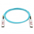 15m (49ft) Cisco QSFP-100G-AOC15M Compatible 100G QSFP28 Active Optical Cable