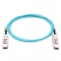 Cable Óptico Activo 100G QSFP28 a QSFP28 25m (82ft) - Compatible con Brocade QSFP28-100G-AOC-25M