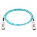 25m (82ft) HW QSFP-100G-AOC25M互換 100G QSFP28アクティブオプティカルケーブル(AOC)