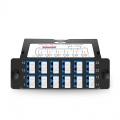 12x LC Duplex to 4x MTP® Male, 24 Fibres OS2 Single Mode FHD TAP Cassette, 70/30 Split Ratio (Live/TAP), 10/40/100G