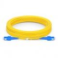 LWL-Patchkabel, 15m (49ft) SC UPC auf SC UPC Duplex Stecker 9/125 Singlemode PVC (OFNR) 3,0mm