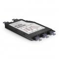 3x MTP-8 to 2x MTP-12, 24 Fibers OM4 Multimode FHX Conversion Cassette