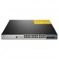 S3800-24T4S Switch administrable y apilable, 24 puertos Gigabit 10/100/1000BASE-T con 4 enlaces ascendentes SFP+ de 10Gb, poder dual