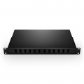 Customised 6-48 Ports Sliding Rack Mounted Fibre Terminal Box as Distribution Box Without Pigtails and Adapters