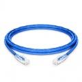 3.7m Cat5e Ethernet Patch Cable - Snagless, Unshielded (UTP) PVC CM, Blue