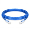 25ft (7.6m) Cat5e Snagless Unshielded (UTP) PVC CM Ethernet Patch Cable, Blue