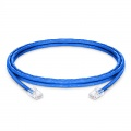 Cable de Red Ethernet LAN RJ45 UTP Cat 5e 2.1m 10/100/1000 Mbps PVC CM Azul