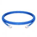 2.4m Cat5e Ethernet Patch Cable - Non-booted Unshielded (UTP) PVC CM, Blue